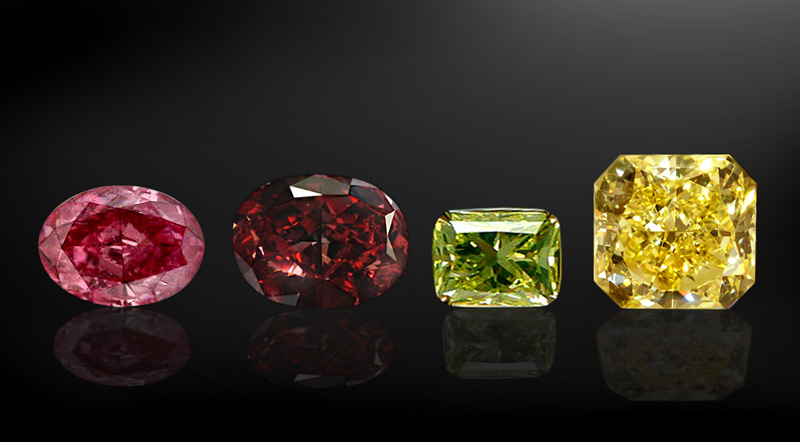 fancy colors hues gia and natural consist of a all diamond color by are diamonds accompanied colored report certified